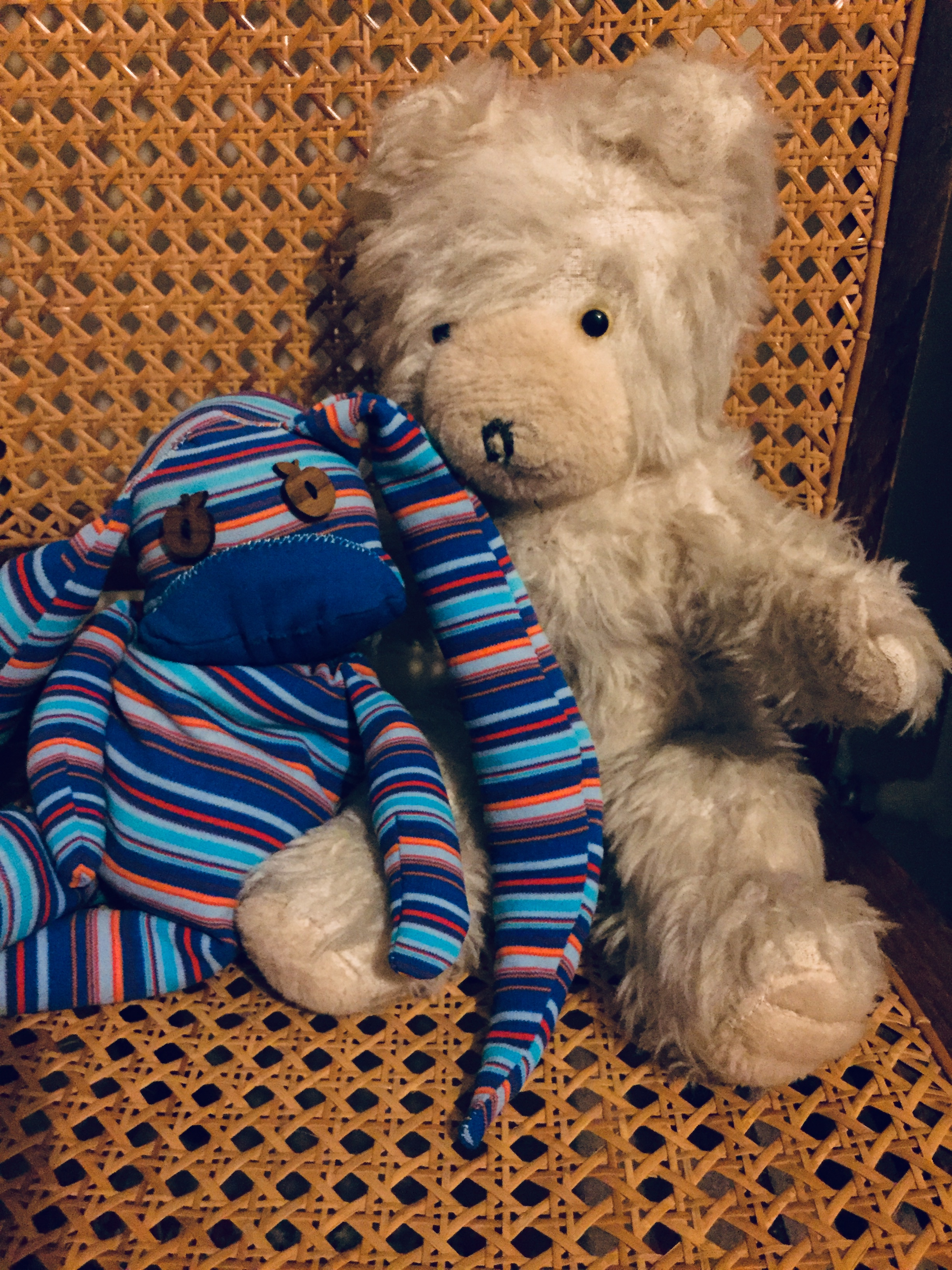 Image of a childs teddy bear