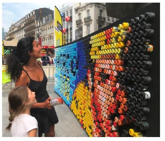 Pixelcan Street Art