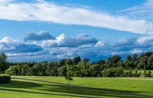 Cabinteely Park Green Grass Blue Sky