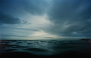 photograph of the sea by the 40 foot by Gary Coyle