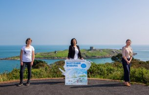 Dalkey Island Infographic Launch