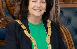 An Cathaoirleach Cllr Lettie McCarthy