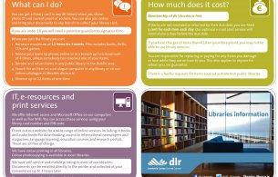 Libraries information leaflet