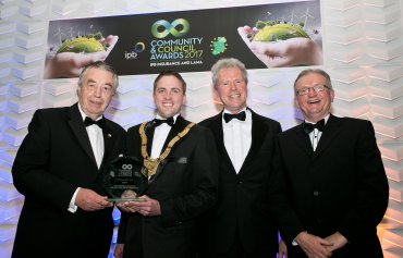 best civil engineering project leopardstown link road roundabout