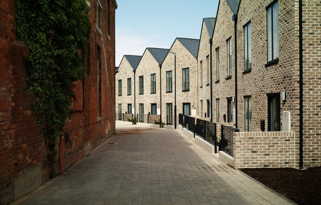 George's Place Terrace, New Street, DLR Architects
