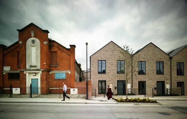 George's Place Terrace, New and Existing, DLR Architects