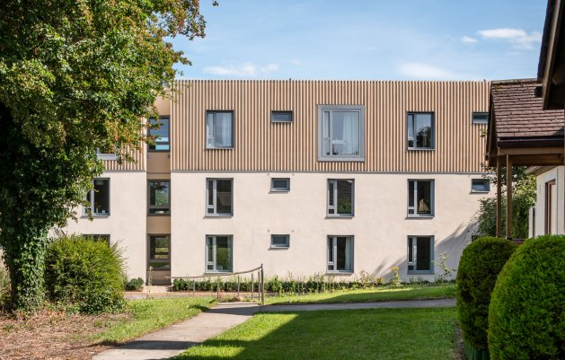 Rochestown House Phase II, DLR Arhcitects, View of Front Facade