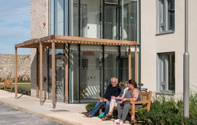 Rochestown House Phase II, DLR Arhcitects, View of Entrance