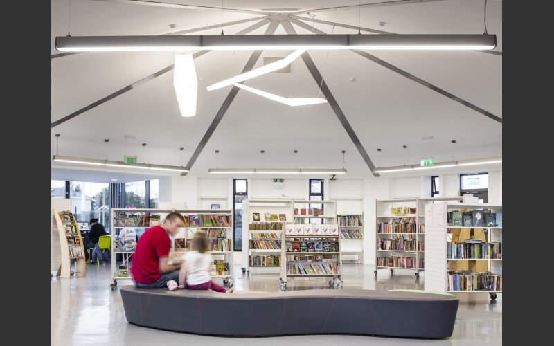 Deansgrange Library Interior