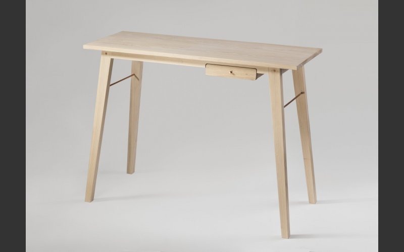 wooden console table by Conor Kelly