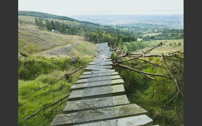 Mountain Bike Ramp, Ticknock by Dara McGrath