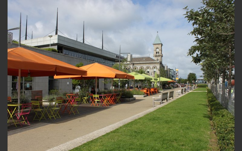The Metals Dún Laoghaire Outdoor Seating