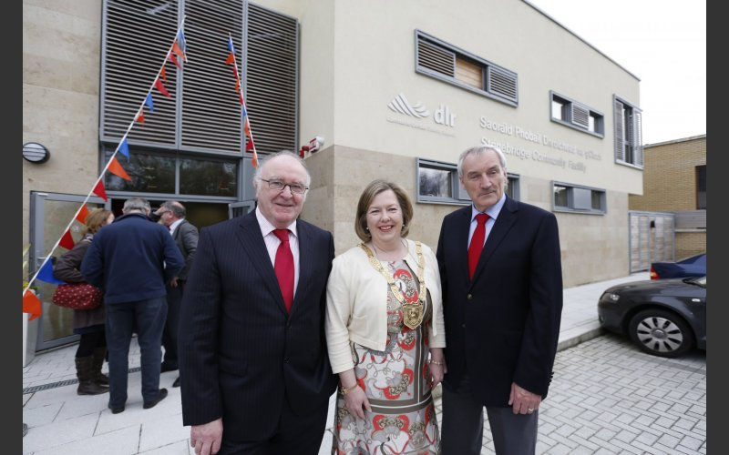 Cllr Carrie SMyth, Donal Marren, Cllr O'Callaghan