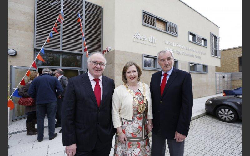 Cllr Carrie SMyth, Donal Marren, Cllr O'Callaghan