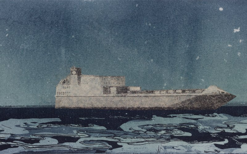 The Night Ferry by Linda Uhlemann