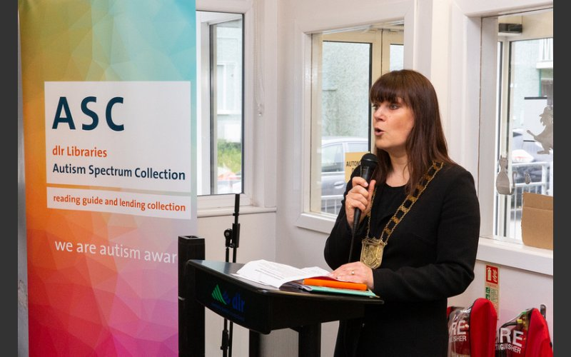 New Autism Spectrum Collection launched in Stillorgan Library, Tuesday 22nd October 2019  Photo by Peter Cavanagh