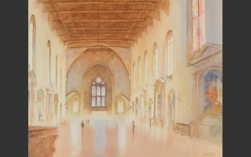 Painting of Chiesa Di San Domenico by Tom Roche