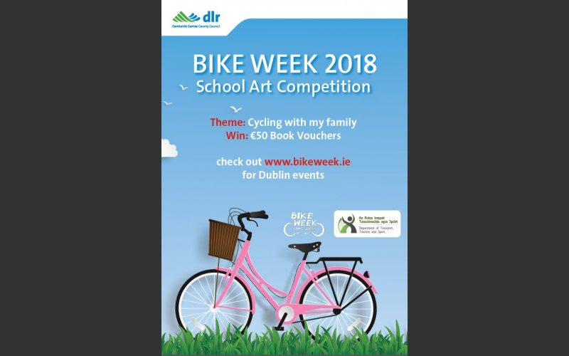 Bike Week Art Competition 2018 | Dún Laoghaire-Rathdown