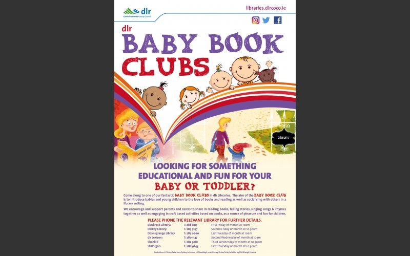 Baby Book Club poster