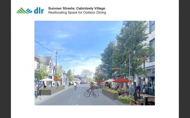 Summer Streets - Cabinteely Perspective 1