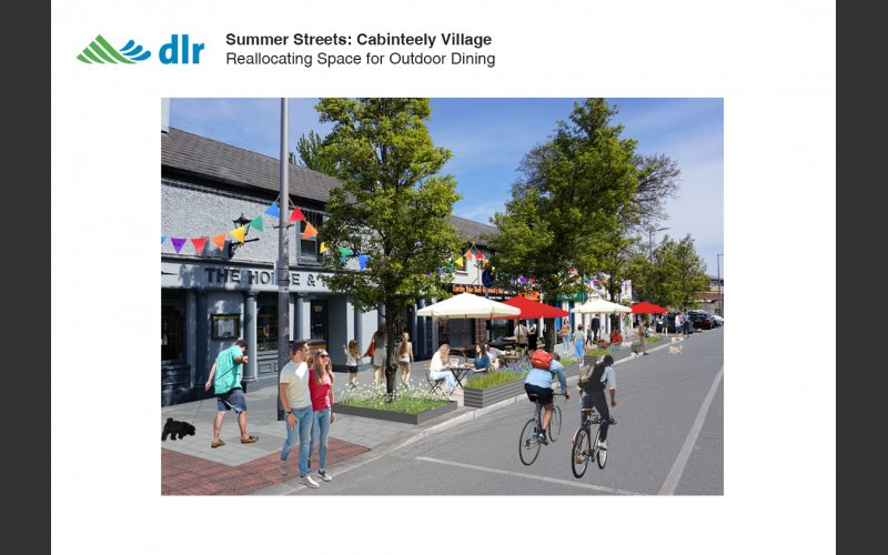 Summer Streets - Cabinteely Perspective 2