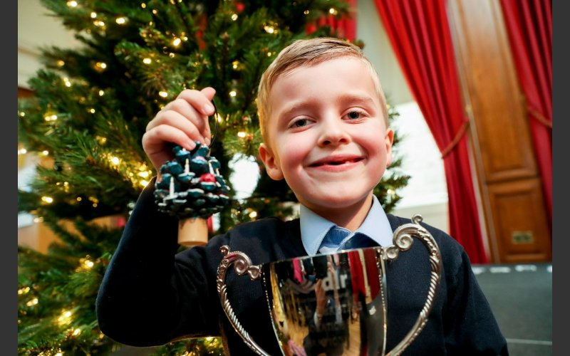 Winners Announced From The Annual Recycled Christmas Decoration
