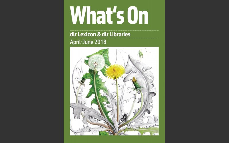 What's On cover April-June 2018