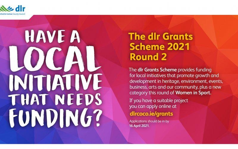 dlr Grants Scheme 2021 - Round 2