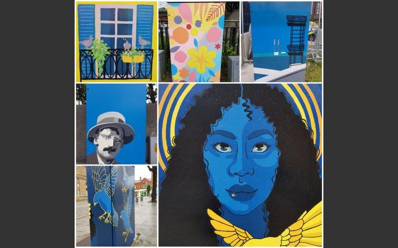 Dublin Canvas 2020 Collage
