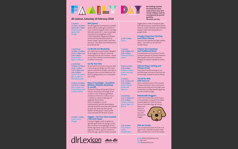 Family Day Flier February 10