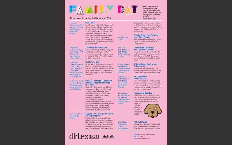 Family Day Flier February 10