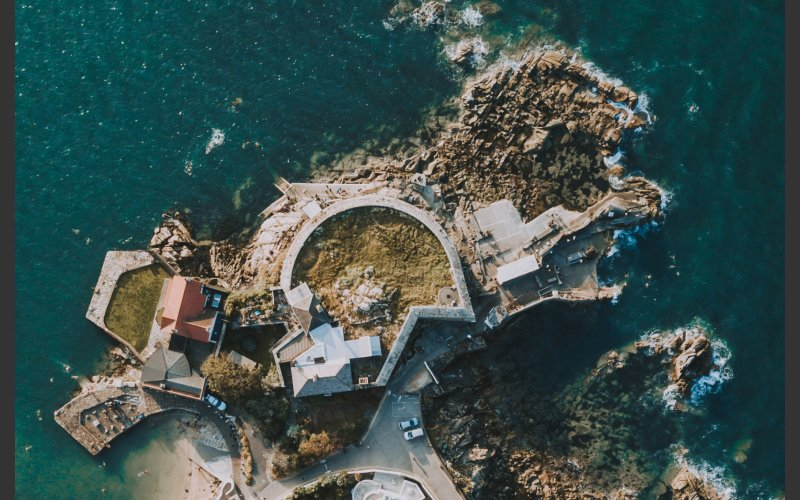 Forty Foot Aerial View