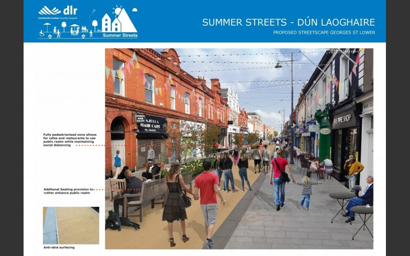 A proposed view of Georges Street