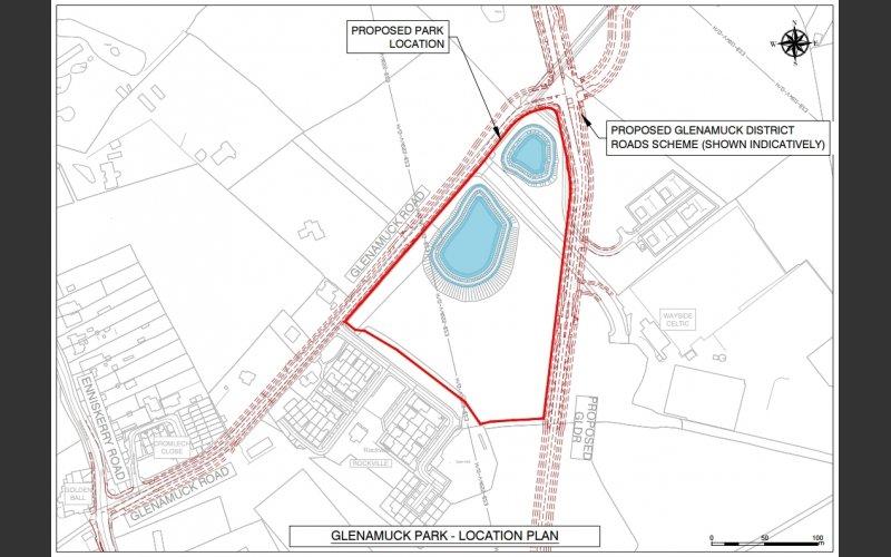Proposed Glenamuck Park
