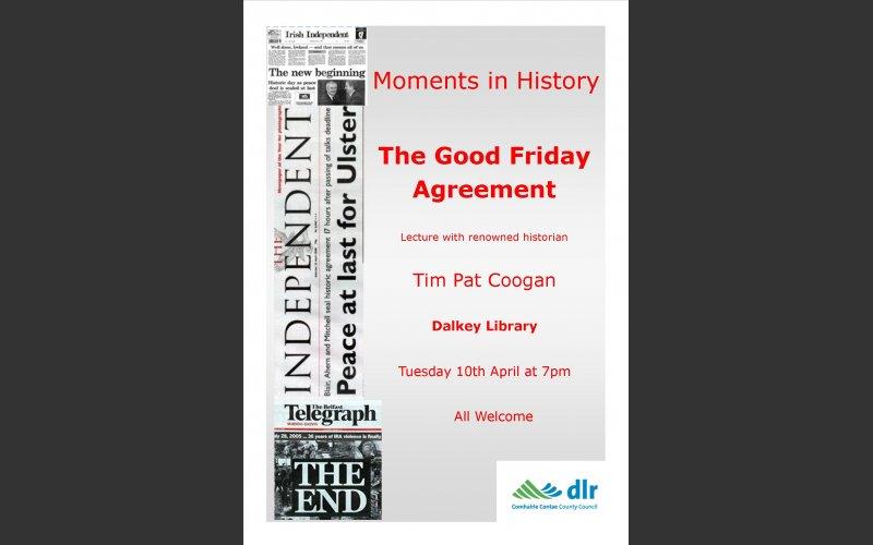 Good Friday Agreement Tim Pat Coogan