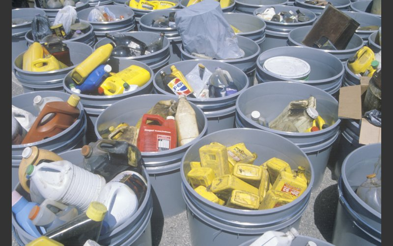 Pic of Household Hazardous Waste