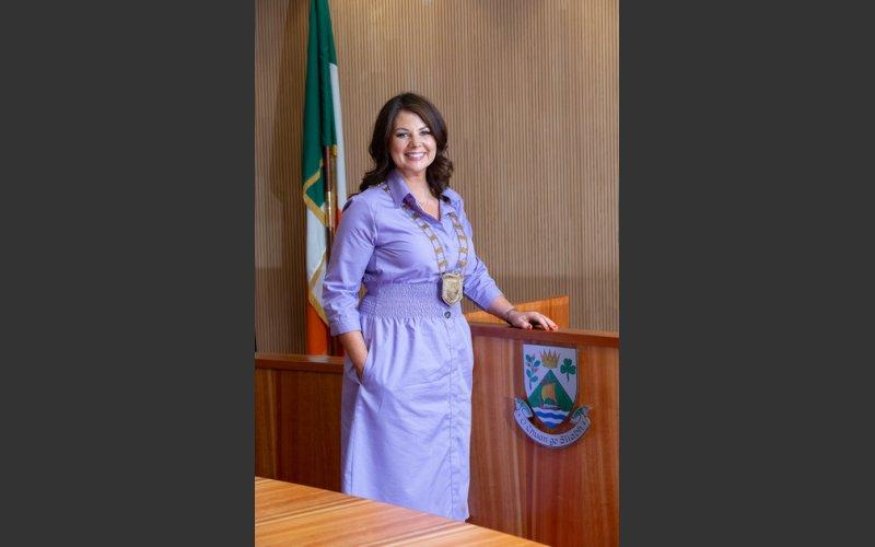 Cllr Juliet O'Connell, An Leas Chathaoirleach