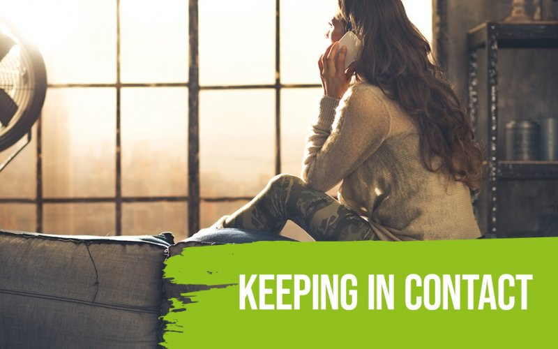 Keep Well - Keeping in Contact