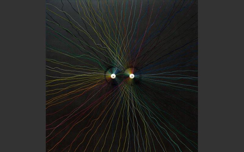 Painting by artist Emmet Kierans