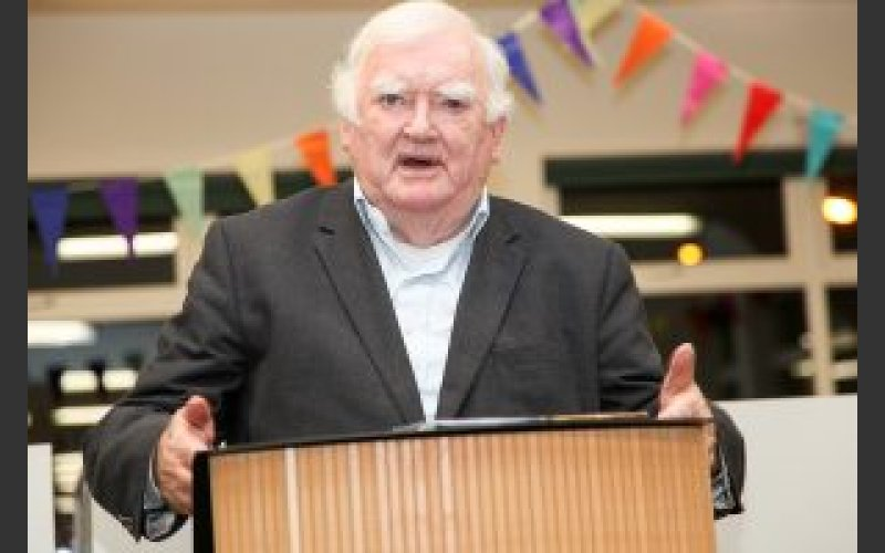 Tim Pat Coogan, author and historian