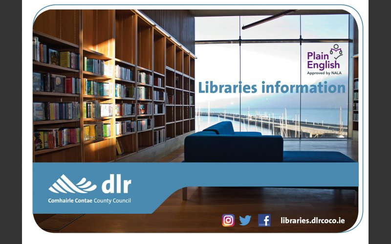 Libraries information leaflet cover