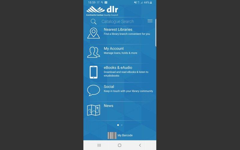 dlr Libraries app