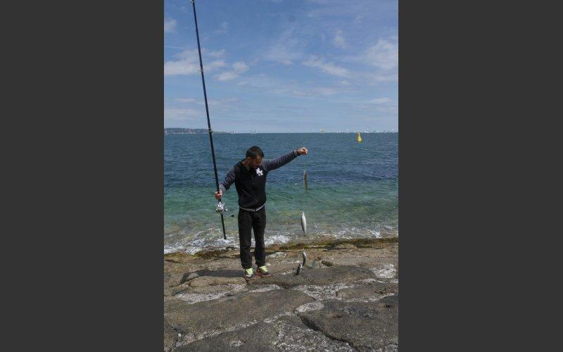 Mackeral fisherman
