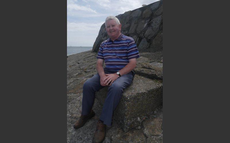 Michael O'Connor taking a sailing break