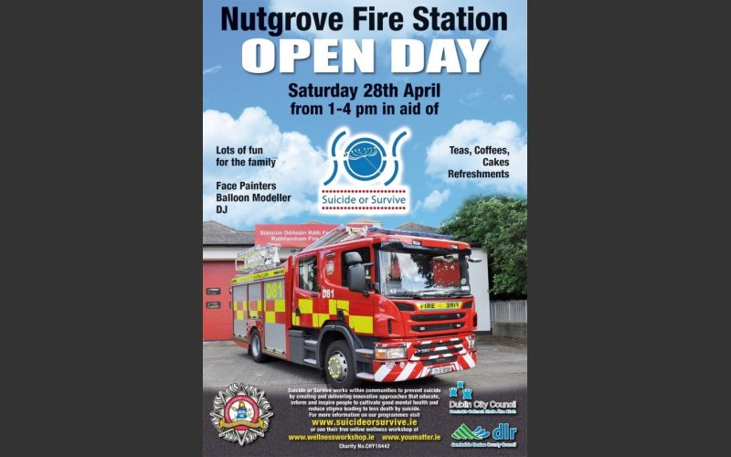 Nutgrove Fire Station Open Day Saturday 28 April 2018