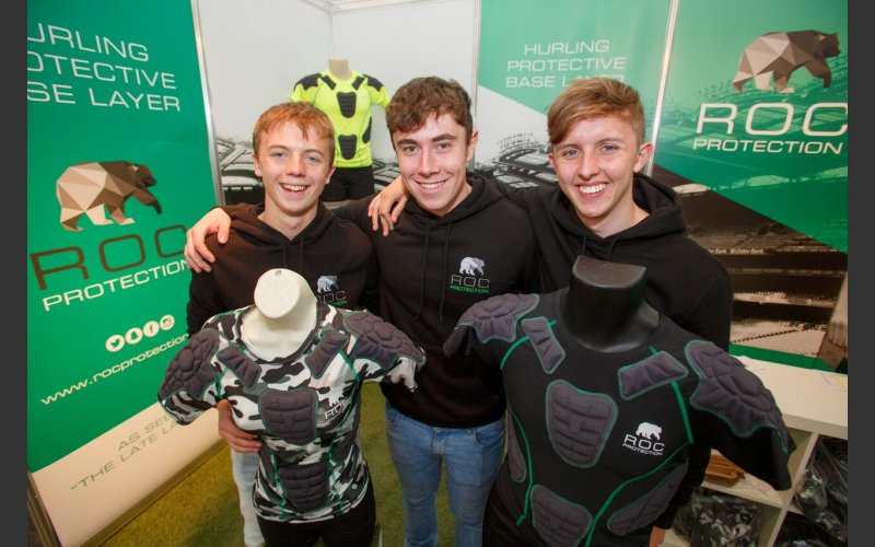 Cormac Spain, Carl Cullen and Ross Byrne, ROC Protection