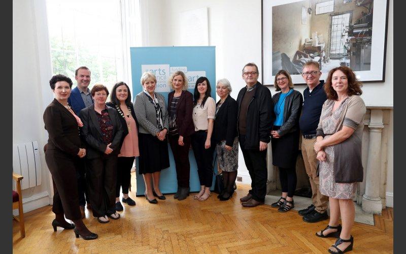 Press Launch of Arts Funding