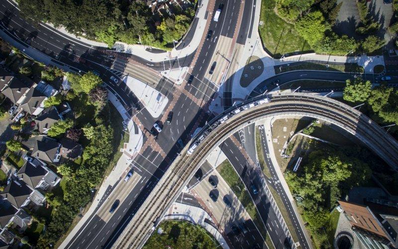 Leopardstown Link Road & Roundabout Configuration