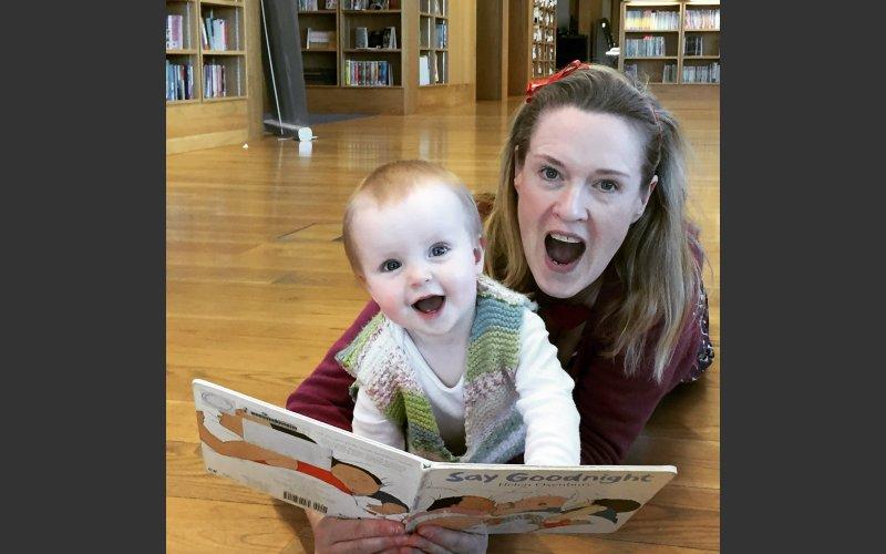 Sara Webb Baby Book Club Facilitator