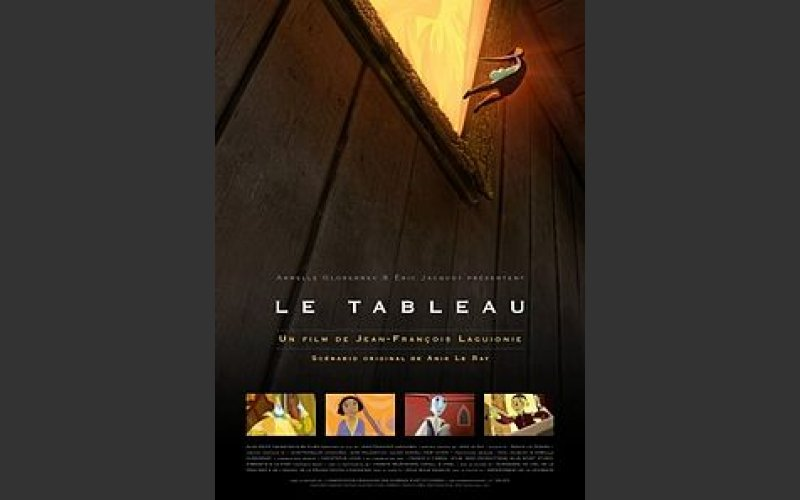 The Painting/Le Tableau, an animation
